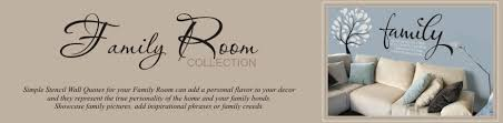 Family Room Decals | Family Quotes | The Simple Stencil via Relatably.com