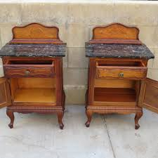 Antique Night Stands Pair Of French Antique Night Stands Antique Side Tables Antique