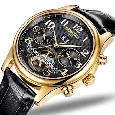 <b>CARNIVAL Mens</b> Automatic <b>Self Wind Tourbillon</b> Days Mouths ...