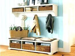 hall entryway furniture. narrow storage bench entryway brilliant with coat rack and hall furniture