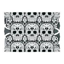 skull rugs sugar rug area indoor outdoor skulls and bathroom australia skull rugs the rug sugar asda