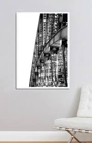 sydney harbour bridge australia framed canvas print photographic print in streched canvas and shadow on shadow box wall art sydney with framed canvas print sydney harbour bridge white moose designs
