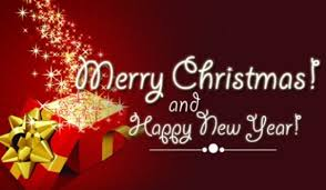 Merry Christmas And Happy New Year Ecard Free Holidays