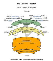 Mccallum Theater Seating Chart Seats Online Charts Collection