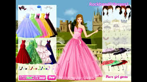 Dress girl up games