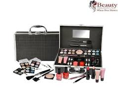 s make up kit cosmetic carry set case travel makeup box gift 33 pieces black