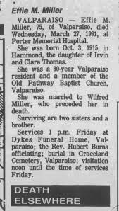 Effie miller - Newspapers.com