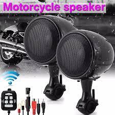 300W su geçirmez 5.0 motosiklet hoparlörler ses Stereo hoparlör  amplifikatör sistemi bluetooth fonksiyonu ile ATV ses sistemi|Motorcycle  Audio