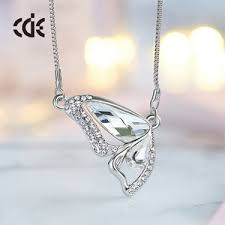 cde guangzhou china fashion jewelry whole 2017 crystals from swarovski erfly pendant necklace