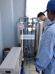 Lắp đặt hệ thống lọc nước máy tại Quận 12