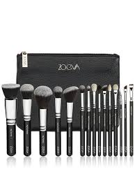 plete professional brush set by zoeva stunning professional brushes 15 in the set for both face and eyes includes a pouch to keep them in too