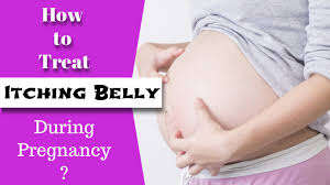 Itching belly during pregnancy home remedies - YouTube