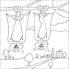 Small Picture Halloween Bats Coloring Pages Excellent Coloring Page Halloween