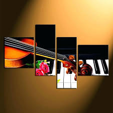 music wall art canvas 4 piece large pictures piano multi panel group themed canva on baby grand piano wall art with piano framed wall art baby grand piano wall art living room decor
