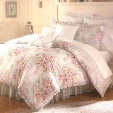 shabby chic white comforter shabby chic ruffled