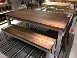 Kitchen Tables With Benches 25 Best Ideas About Kitchen Tables Ikea On Pinterest Desk To