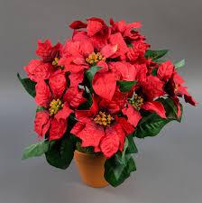 Großer Weihnachtsstern Im Topf 38cm Rot Pf Künstliche