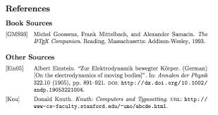 bibliography examples collections getting started biblatex sharelatex online latex editor