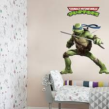 ninja turtles wall stickers decal art