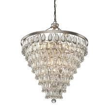 artcraft lighting pebble 11 light crystal chandelier