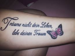 Tattoo Spr He F Frauen Spruchwebsite