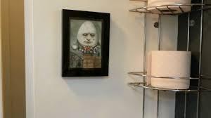 alice in wonderland bathroom theme completed