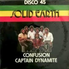 <b>Solid</b> Earth - Captain Dynamite / <b>Confusion</b> (1984, Vinyl) | Discogs