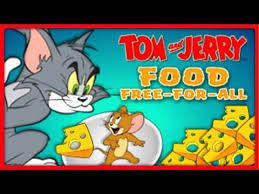 tom and jerry food free for all food fight tom and jerry cartoon gameplay