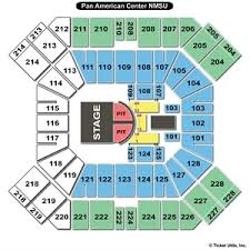 pan am center las cruces seating chart high quality pan am center seating chart 2019