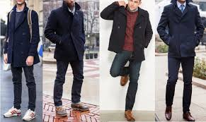 don t overthink what to wear it with it goes with most everything the versatile pea coat works with casual get ups to slightly dressier attire