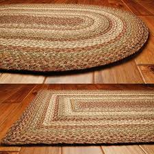 braided area rugs and coir doormats for country style home decor country rugs