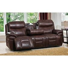 sofa recliner leather leather power sofa recliner with power headrests and ports recliner sofa leather dfs