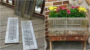 Costruire Portagioie Di Legno : Come riciclare le persiane di legno per creare vasi piante fai