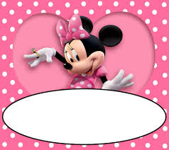 free pink and gold minnie mouse printables