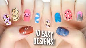 Art Designs Easy 10 Easy Nail Art Designs For Beginners The Ultimate Guide