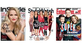 instyle stylewatch or enternment weekly magazine subscription up to 67 off