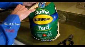 Cook From Frozen Stuffed Butterball Turkey