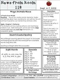 weekly syllabus template editable class newsletter template not sure i will be doing a