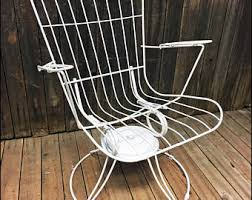 homecrest patio furniture cushions. vintage homecrest patio chair swivel white mid century modern porch metal bounce lounge lounger outdoor homecrest patio furniture cushions