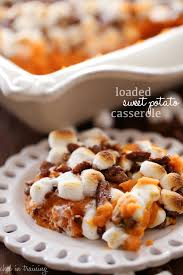 sweet potato casserole recipe with marshmallows and pecans. Perfect Potato Loaded Sweet Potato Casserole And Recipe With Marshmallows Pecans T