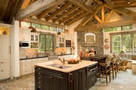 Image Cozy Rustic 15 Warm Cozy Rustic Kitchen Designs For Your Cabin Vintage Decorations Cabin Kitchen Design Noahseclecticcom