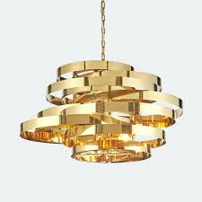 white and gold cone pendant light with interior lighting astounding