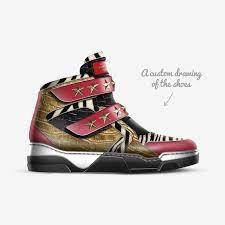 LAUDE DA   A Custom Shoe concept by Ajaye Jackson