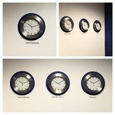 Wall clock for office Designer Think Crafts By Createforless Decorative World Wall Clocks Think Crafts By Createforless