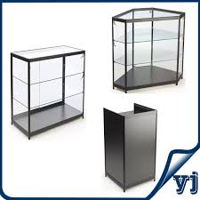 Free Standing Display Cabinets Free Standing Lockable Glass Display Cabinetstower Glass Vitrine 38