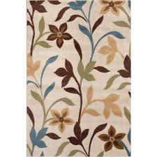 this review is from modern contemporary leaves design cream 8 ft x 10 ft indoor area rug
