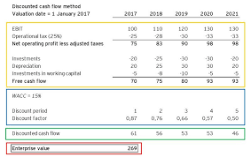 Dcf Valuation Example Ey Startup Valuation Applying The Discounted Cash Flow