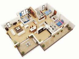 Modern Three Bedroom House Plans Three Bed Room House Plan Shoisecom