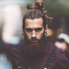 Long Mens Hair Style cool mens hairstyles with beards 8351 by wearticles.com