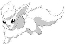 Small Picture Pokemon Coloring Pages Flareon Mobile Coloring Pokemon Coloring